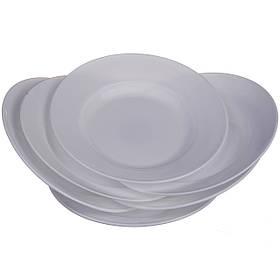 Набор обеденных тарелок круглых A-PLUS 20.3 см х 6 шт (1859)