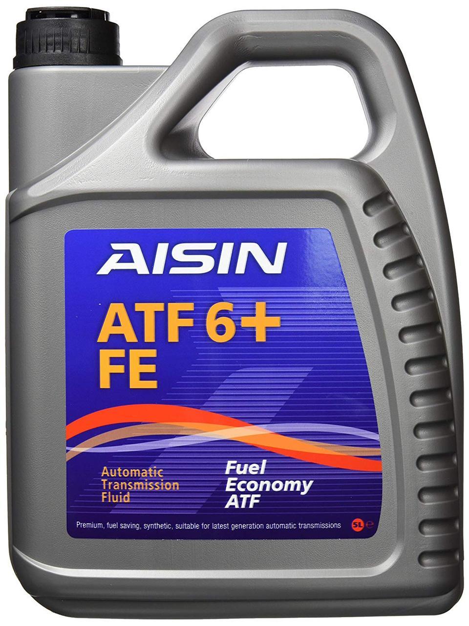 Масло трансмісійне ATF 6+, 5л AISIN ATF91005