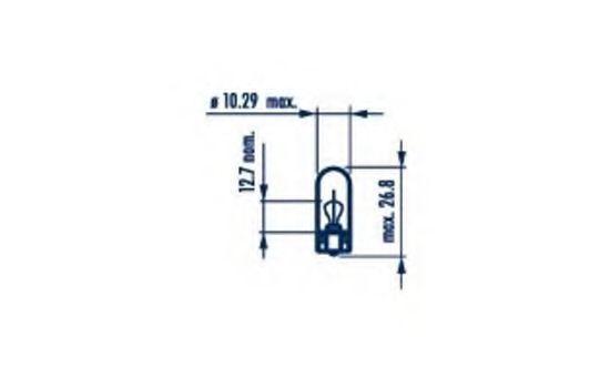 Лампа переднего габарита Hyundai/Kia 1864305009N