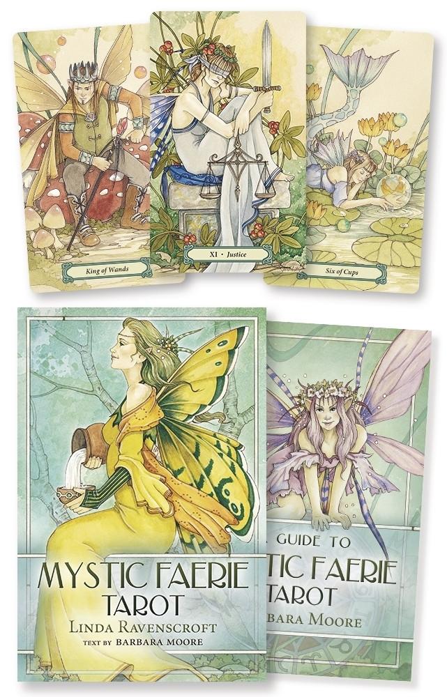 Mystic Faerie Tarot/ Таро Мистических Фей (безрамочное)