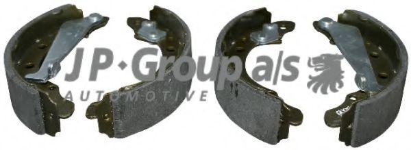Тормозные колодки барабанные JP Group 1163900210