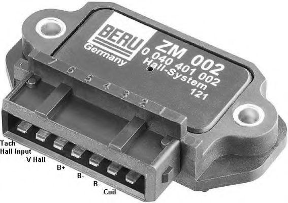 Коммутатор зажигания BERU ZM002