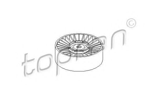 Ролик паразитный поликлинового ремня Topran 100327
