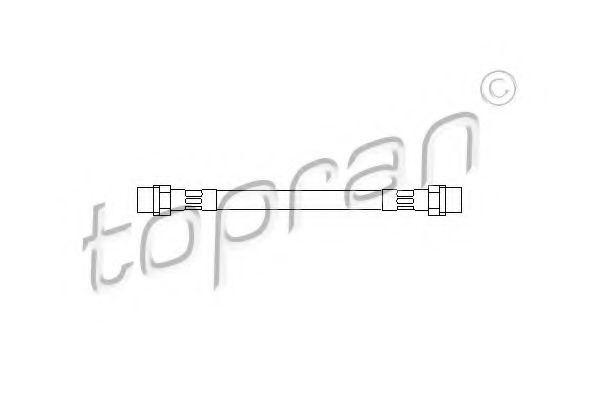 Гальмівний шланг Topran 102636