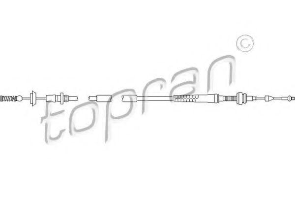 Тросик газа Topran 103085