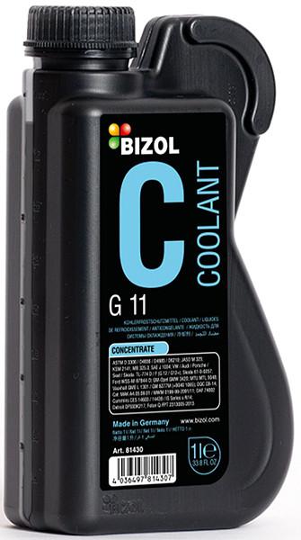 Антифриз синий концентрат G11 1л Bizol B81410