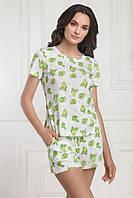 Хлопковая пижама с шортами JASMIME Shirly/Genta 4602/16