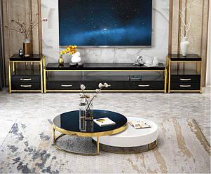 Журнальный столик Nordic Black Luxury. Модель 2-442.