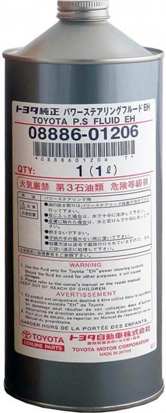 Масло гідравлічне PSF-EH, 1л Toyota 0888601206