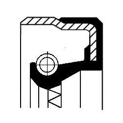 Сальник полуоси заднего моста Corteco 01020048B