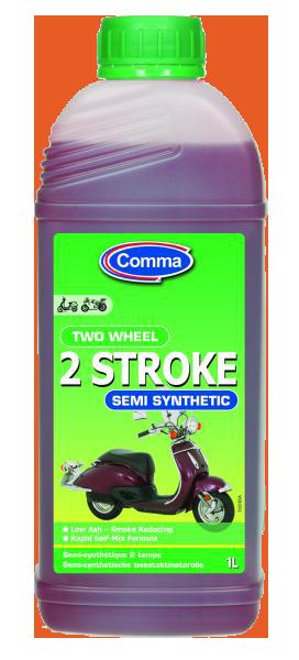 Масло для 2-х тактных двигателей COMMA TWOWHEEL2ST1LSYNTHET