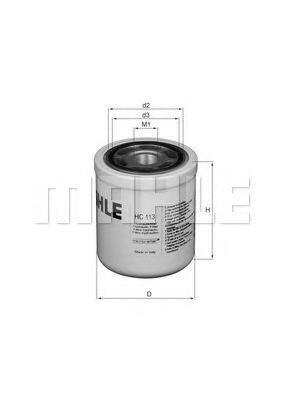 Фильтр масляный Knecht (Mahle) HC113