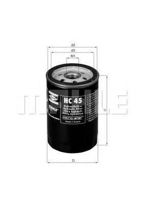 Гидрофильтр автоматическая коробка передач Knecht (Mahle) HC45