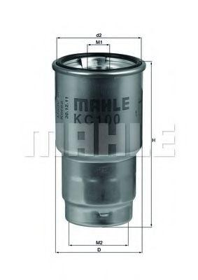 Фильтр топливный Knecht (Mahle) KC100D
