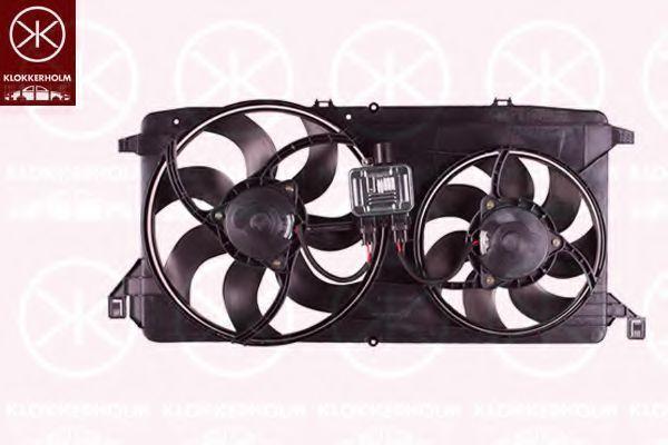 Вентилятор охлаждения двигателя Klokkerholm 25102602