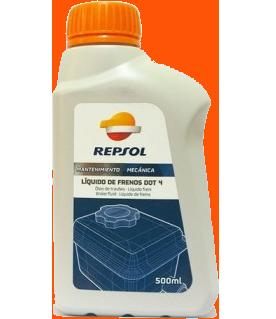 Тормозная жидкость LIQUIDO FRENOS DOT-4, 0.5л Repsol RP701A96