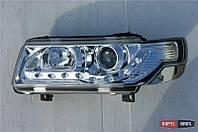 Оптика передняя Volkswagen Passat B4 1993-1997 тюнинг, хром JunYan