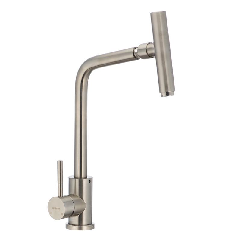 Смеситель для кухни с поворотным изливом MIXXUS SUS-017 (SS2813)