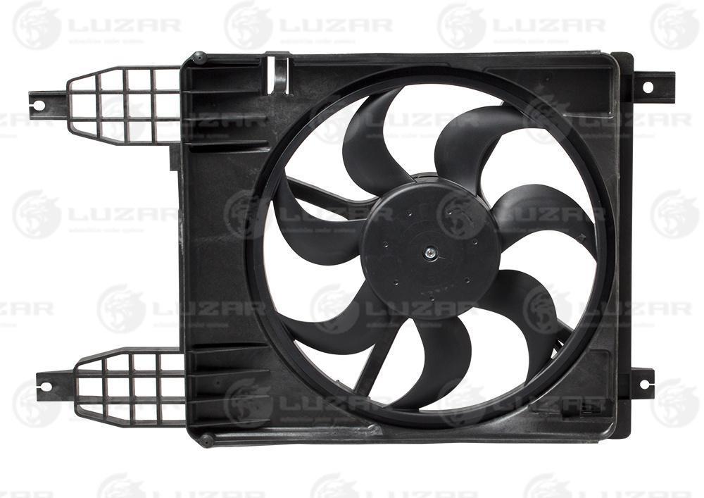 Вентилятор охлаждения радиатора Авео T255 (08-) (в сборе с кожух.) LFK 0581 Luzar 95950465 95950465 94567001