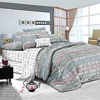 """Комплект постельного белья """"Нью-Йорк"""" Ранфорс New-York-R-683AB, Семейный комплект"""
