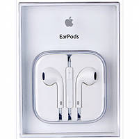 Наушники Apple EarPods 3.5 mm With Remote and Mic HC белые