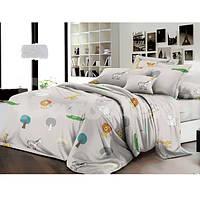 """Комплект постельного белья """"Африка"""" Ранфорс Afrika-2123A, Семейный комплект"""