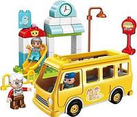 "Конструктор Qman ""Shool bus"" 5102"