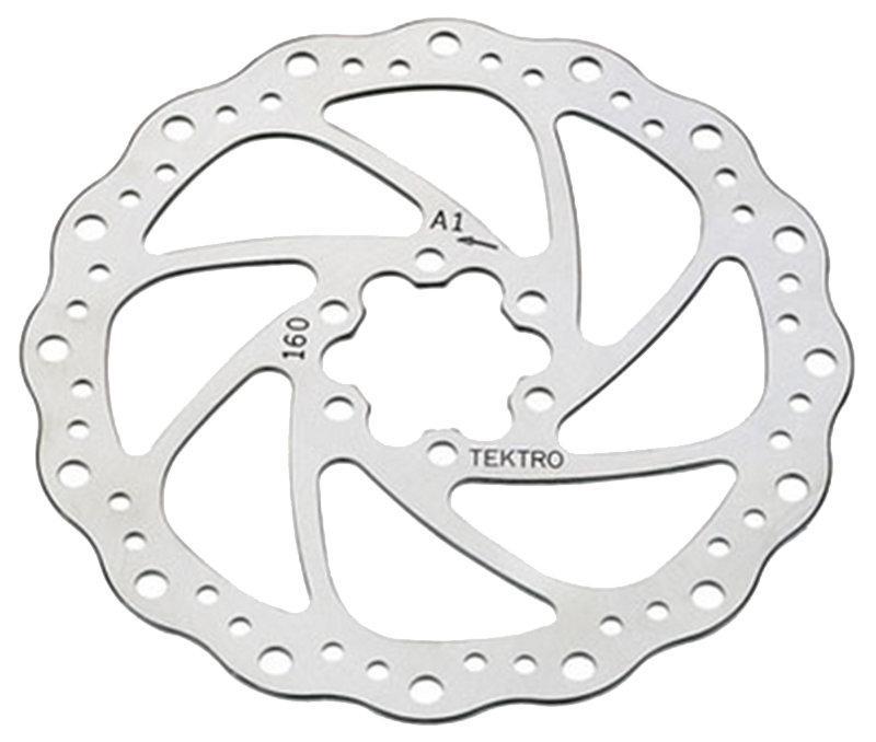 Ротор гальмівний велосипедний Tektro TR-19 203 mm.