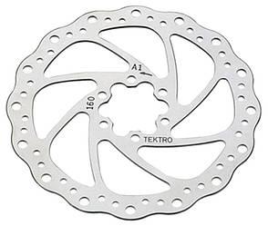 Ротор тормозной велосипедный Tektro TR-19 203 mm.
