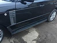 Боковые пороги Land Rover Range Rover 2002-2012   Подножки Cixtai cxk-lr06-1003