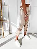 Спортивные штаны женские. Цвет: чёрный, бежевый. Размер: 42-44, 44-46, фото 6