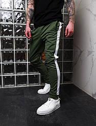 Стильные мужские спортивные штаны,цвет хаки