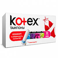 "Тампоны ""Kotex Super"" 4 капли (16+8шт.)"