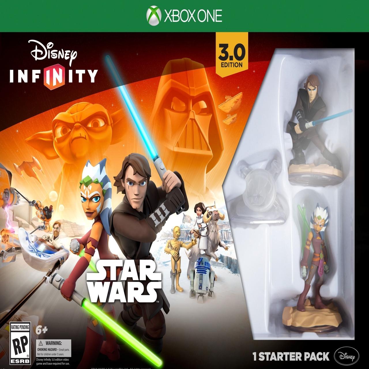 Disney Infinity 3.0: Стартовий набір Star Wars Xbox One (англійська версія)