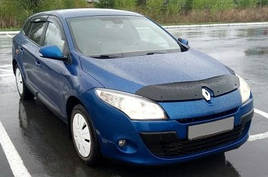 """Ветровики, дефлекторы окон Renault Megane III Grandtour 2009 """"VL-Tuning"""""""