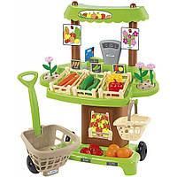 Игровой набор Ecoiffier продуктовый супермаркет Органические продукты (001741)