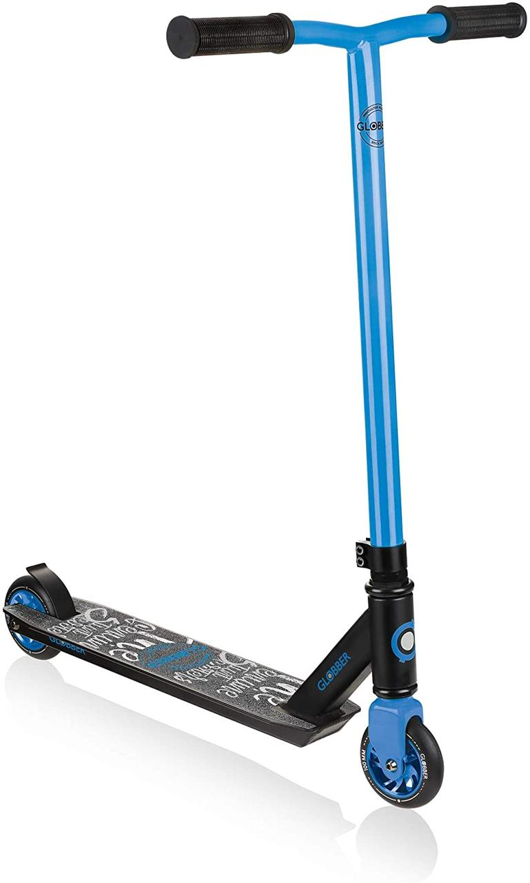 Трюковой самокат Globber Stunt Scooter GS 360 - Black/Blue