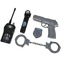 Игровой набор Simba Полицейский в кейсе с пистолетом и аксессуарами (8108525)