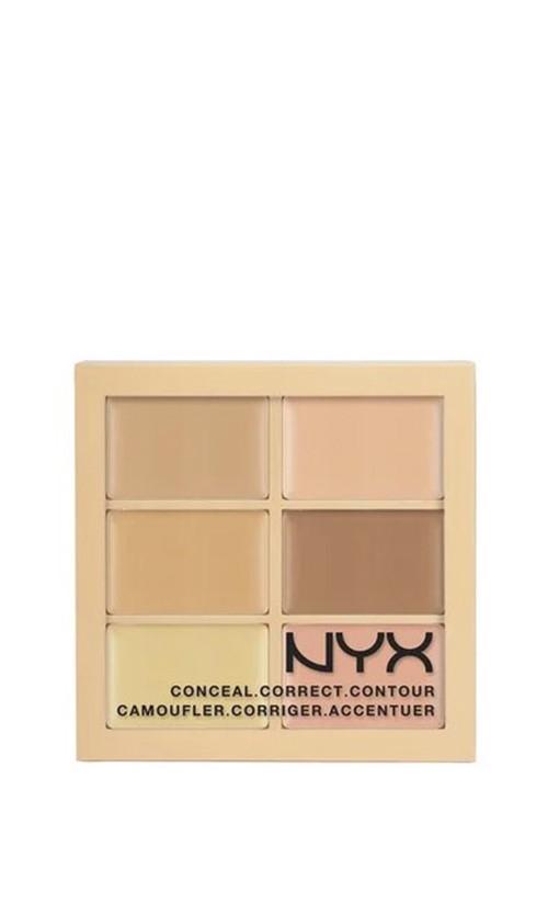 Nyx Professional Makeup Palette Conceal Correct Contour консилеров для коррекции лица 3C contour -light 9 мл Код 26432