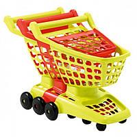 Игровой набор Ecoiffier Тележка для супермаркета с подвижной задней стенкой (001220)