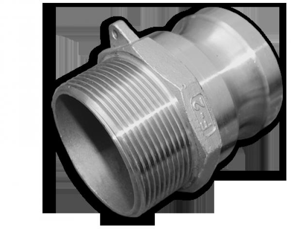 "KAMLOK Тип F - Адаптер РЗ 4"" - нерж/сталь, CGF400A/SS"