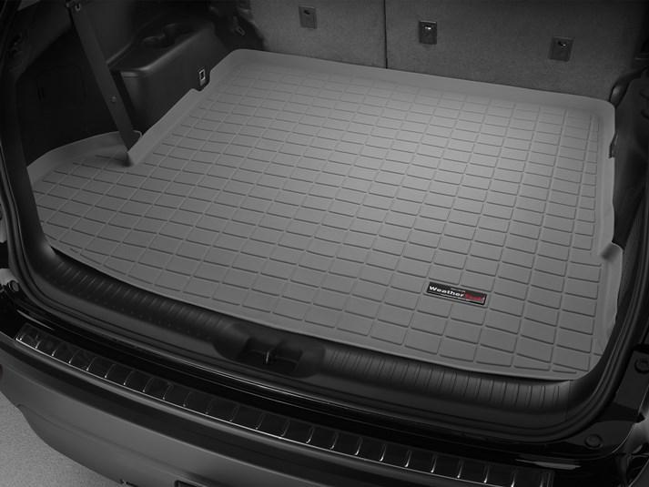 Ковер резиновый WeatherTech Toyota Highlander 2014-2019 в багажник серый