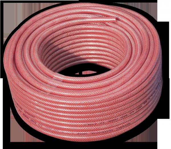 BRADAS Шланг технический 6*2,5 мм RED, 15/60 bar, TH06*2,5RD