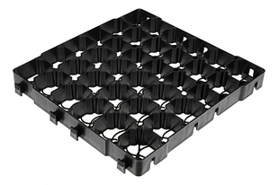 Газонная решетка HOBBY, 386 x 386 x 40 мм, KRHB40