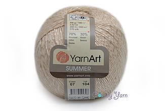 YarnArt Summer, Молочный №07
