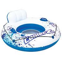 Детский надувной плотик Bestway 43108 кресло-круг для летнего отдыха