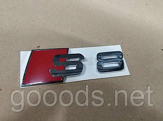 Металлическая надпись шильдик S8 на Audi A8