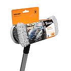 """Щетка для мытья  8"""" с телескопической ручкой 80-130 см, ES2072, фото 3"""