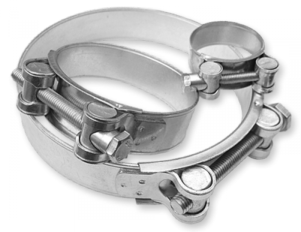 Хомут силовой одноболтовый RGBS W1 74-79/24 мм, RGBS 76/ 24
