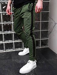Мужские спортивные штаны,цвет хаки